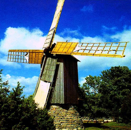 Muhu, windmill(photo)